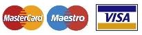 MasterCard,Maestro,Visa