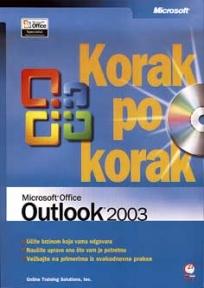 Microsoft Office Outlook 2003 korak po korak +CD