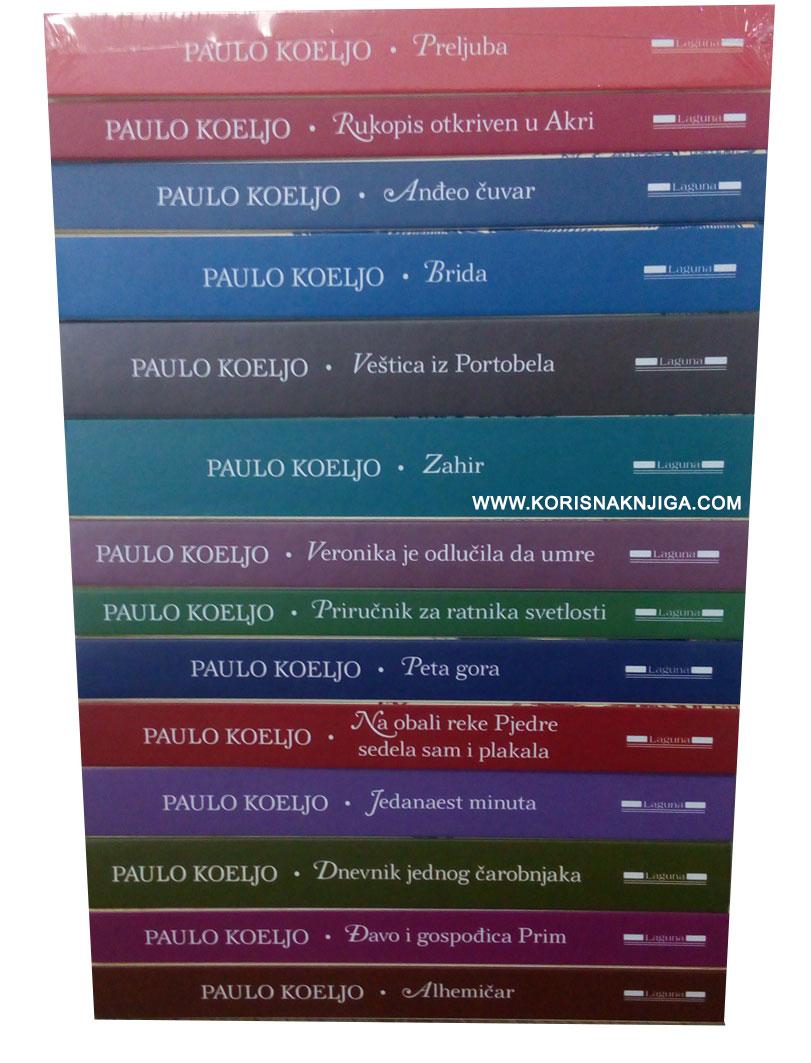 Paulo Koeljo - komplet od 16 knjiga