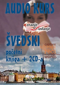 Švedski jezik, knjiga + 2 audio CD-a, početni