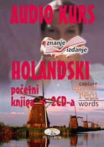 Holandski jezik, knjiga + 2 audio CD-a, početni