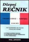 Džepni rečnik francusko-srpski