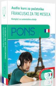 PONS Audio kurs / početni - Francuski za tri meseca
