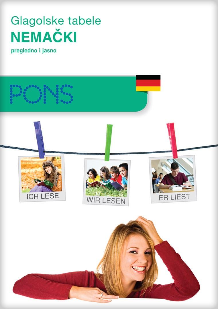 Glagolske tabele - nemački