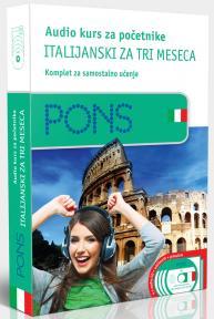 PONS Audio kurs / početni - Italijanski za tri meseca