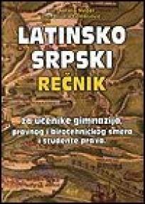 Latinsko-srpski rečnik