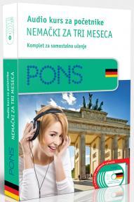 PONS Audio kurs / početni - Nemački za tri meseca