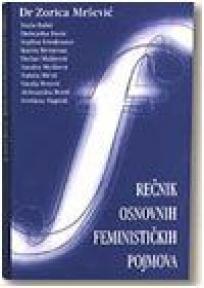 Rečnik osn. feminističkih pojmova (broširan povez)