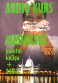 Mađarski jezik, knjiga + 2 audio CD-a, početni