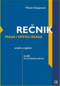 Srpsko - Engleski rečnik fraza i opštih izraza