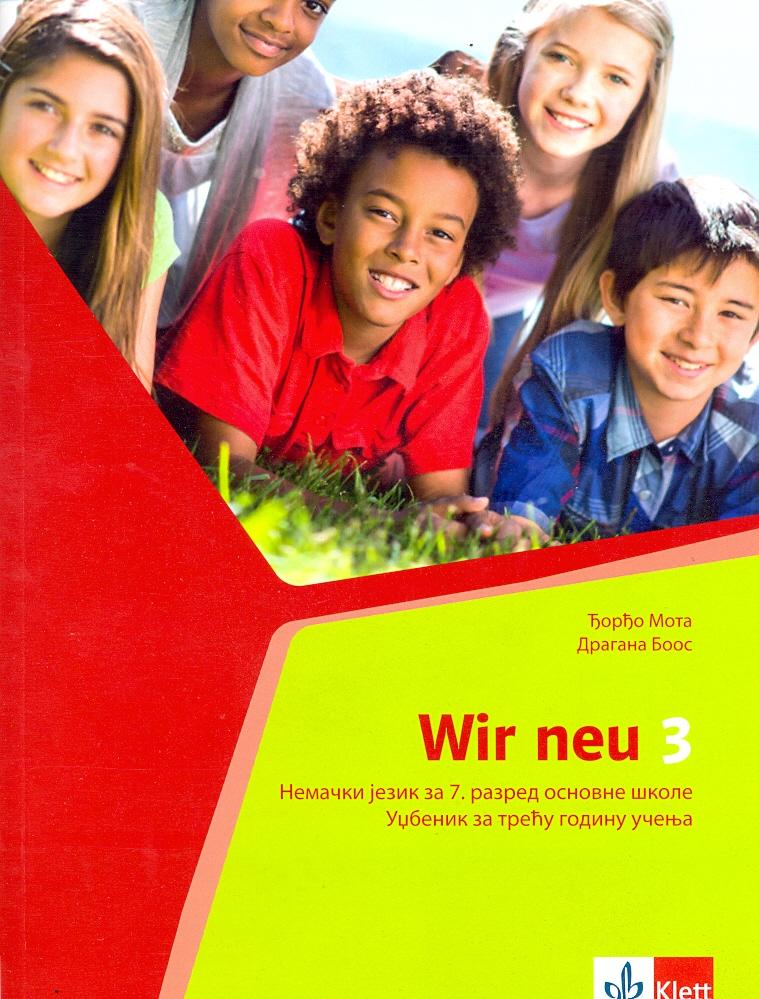 Wir 3, udžbenik