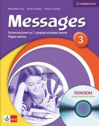 Messages 3, engleski jezik za 7. razred radna sveska