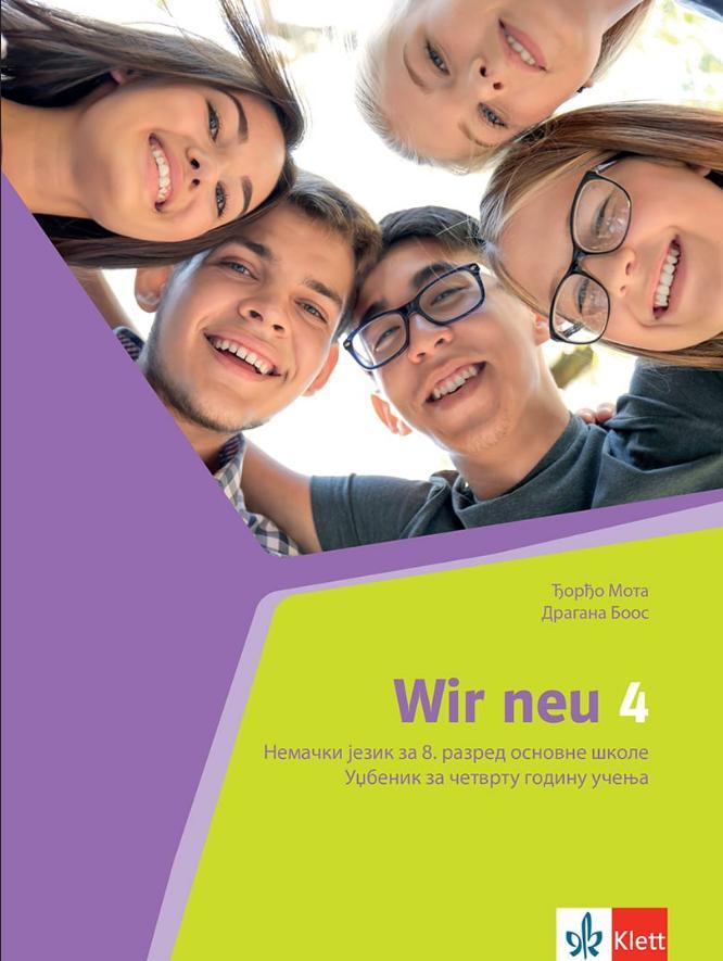 Wir 4, nemački jezik za 8. razred udžbenik
