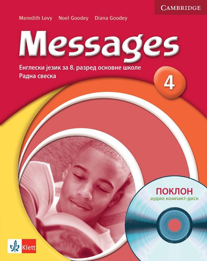 Messages 4, engleski jezik za 8. razred radna sveska