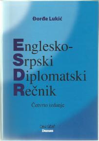Srpsko - engleski, englesko-srpski diplomatski rečnik