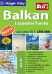 Balkan + zapadna Turska, auto atlas