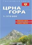 Crna Gora školska karta