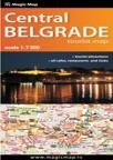 Centralni Beograd - turistička karta