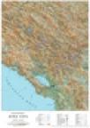 Zidna školska karta -Crna Gora