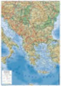 Zidna školska karta - Balkan