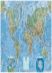 Zidna školska karta - Svet
