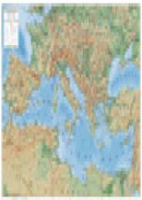 Zidna školska karta - Sredozemlje