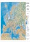 Zidna školska karta - Evropa