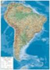 Zidna školska karta -Južna Amerika