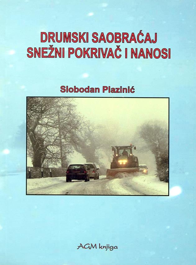 Drumski saobraćaj snežni pokrivač i nanosi