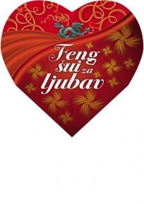 Feng šui za ljubav - knjiga u obliku srca