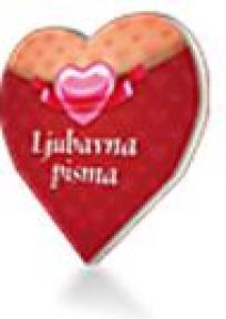 LJUBAVNA PISMA - knjiga u obliku srca