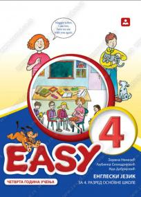 Easy 4, udžbenik + CD