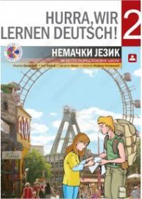 Hurra, wir lernen deutsch ! 2, udžbenik + CD