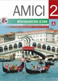 Amici 2, udžbenik + CD