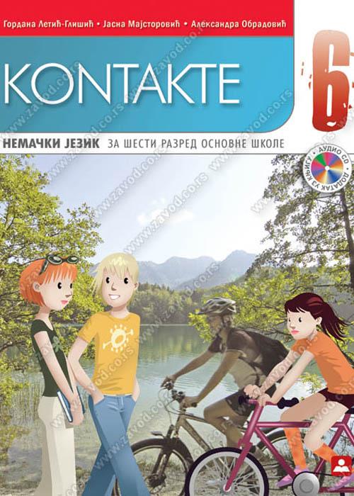 Kontakte 6, udžbenik + CD