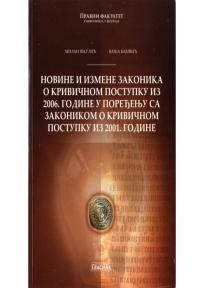 Novine i izmene zakonika o krivičnom postupku iz 2006. godine u poređenju sa ... 2001.go