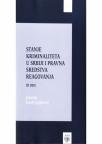 Stanje kriminaliteta u Srbiji i pravna sredstva reagovanja, 3.deo, Priredio prof. dr Đor�