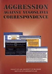 Aggression against Yugoslavia - correspondence