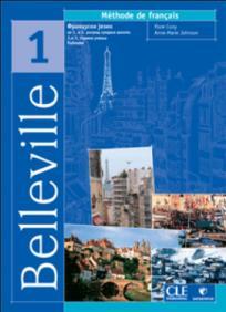 Belleville 1,francuski za 1. i 2. razred srednje škole,1. i 2. godina učenja,udžbenik