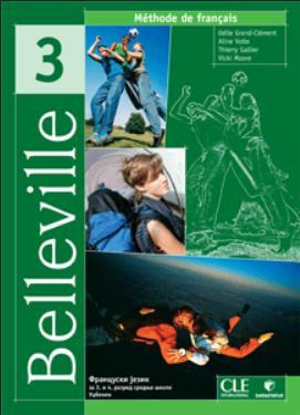 Belleville 3 -  francuski jezik, udžbenik
