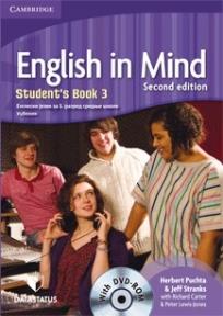 English in Mind 3, engleski jezik za 3. razred srednje škole, udžbenik