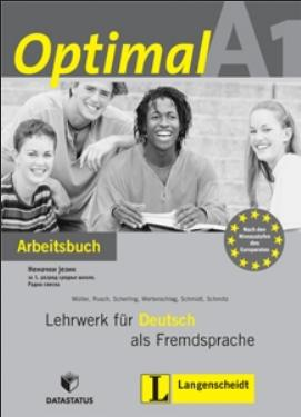 Optimal A1, nemački jezik za 1. razred srednje škole, radna sveska