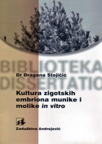 Kultura zigotskih embriona munike i molike in vitro
