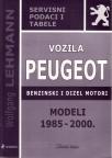 Vozila Peugeot sa benzinskim i dizel motorom (modeli 1985. - 2000.)
