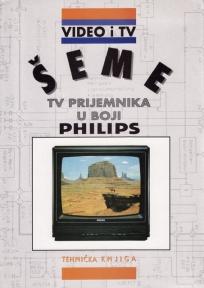 Šeme TV prijemnika u boji PHILIPS