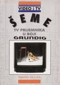 Šeme TV prijemnika u boji GRUNDIG