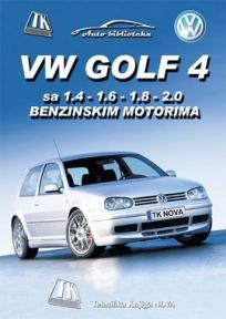 VW GOLF 4 sa 1.4 - 1.6 - 1.8 - 2.0 benzinskim motorima