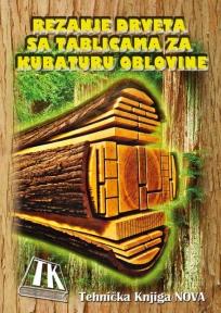 Rezanje drveta sa tablicama za kubaturu oblovine