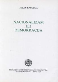 Nacionalizam ili demokracija