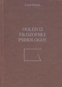 Ogledi iz filozofske psihologije